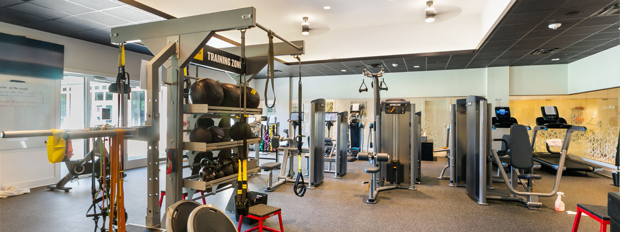 Strength and Cardio Fitness Room