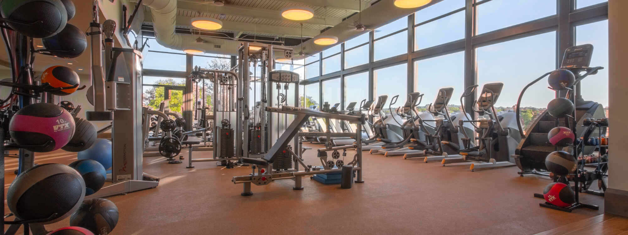 Strength and Cardio Fitness Facility